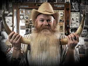 Coast's most famous beard in international competition