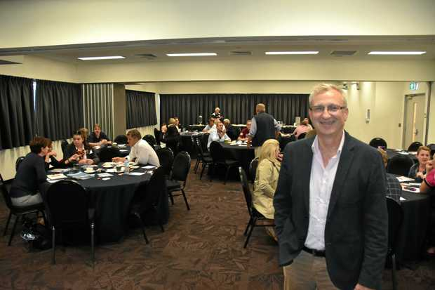 KEY FIGURE: Rick Hamilton of Tourism and Events Queensland at the GECC.