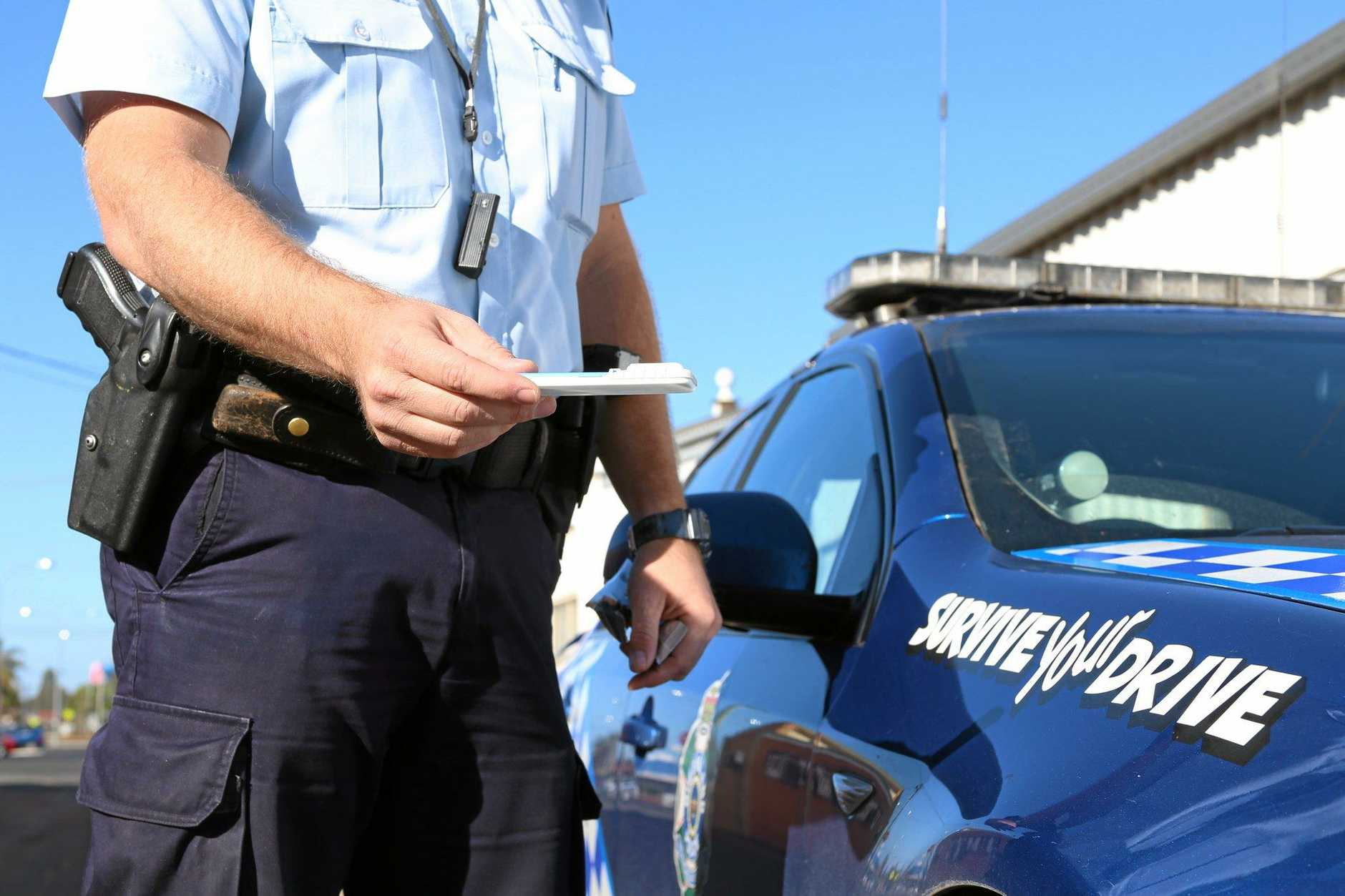 BANNED: Samuel Francis Watkins was caught driving without a licence and with methamphetamine in his system.