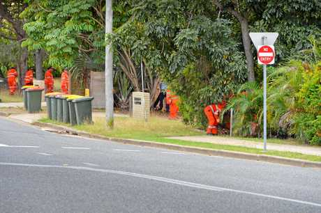 SES volunteers search in South Gladstone.