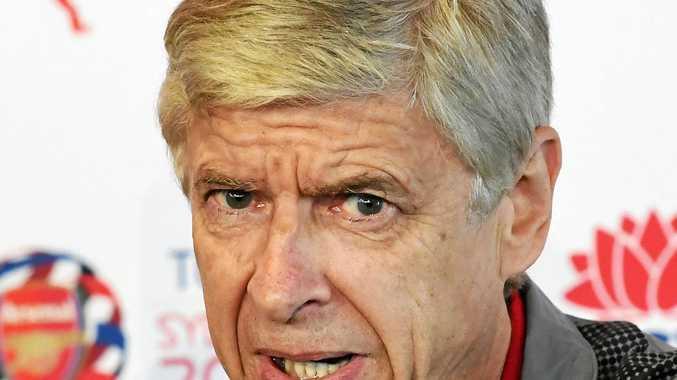 IN AWE: Arsenal manager Arsene Wenger