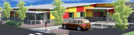 The new Park Avenue childcare centre.