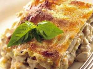 Cream rises to the top with lasagne twist