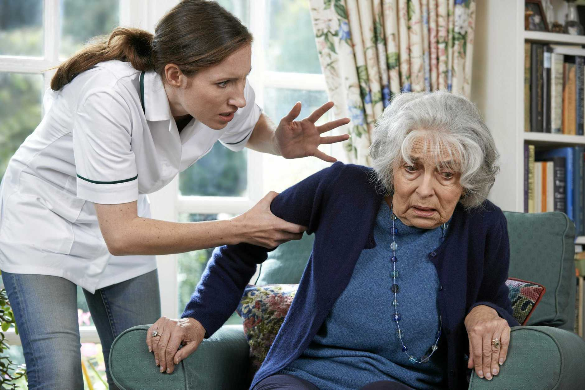 NO EXCUSE: Elder abuse can affect people of all cultures, education and socio-economic status.