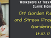 A workshop on tips on how to make safe, environmentally friendly garden remedies to beat those pesky problems, while being kind on your back pocket.
