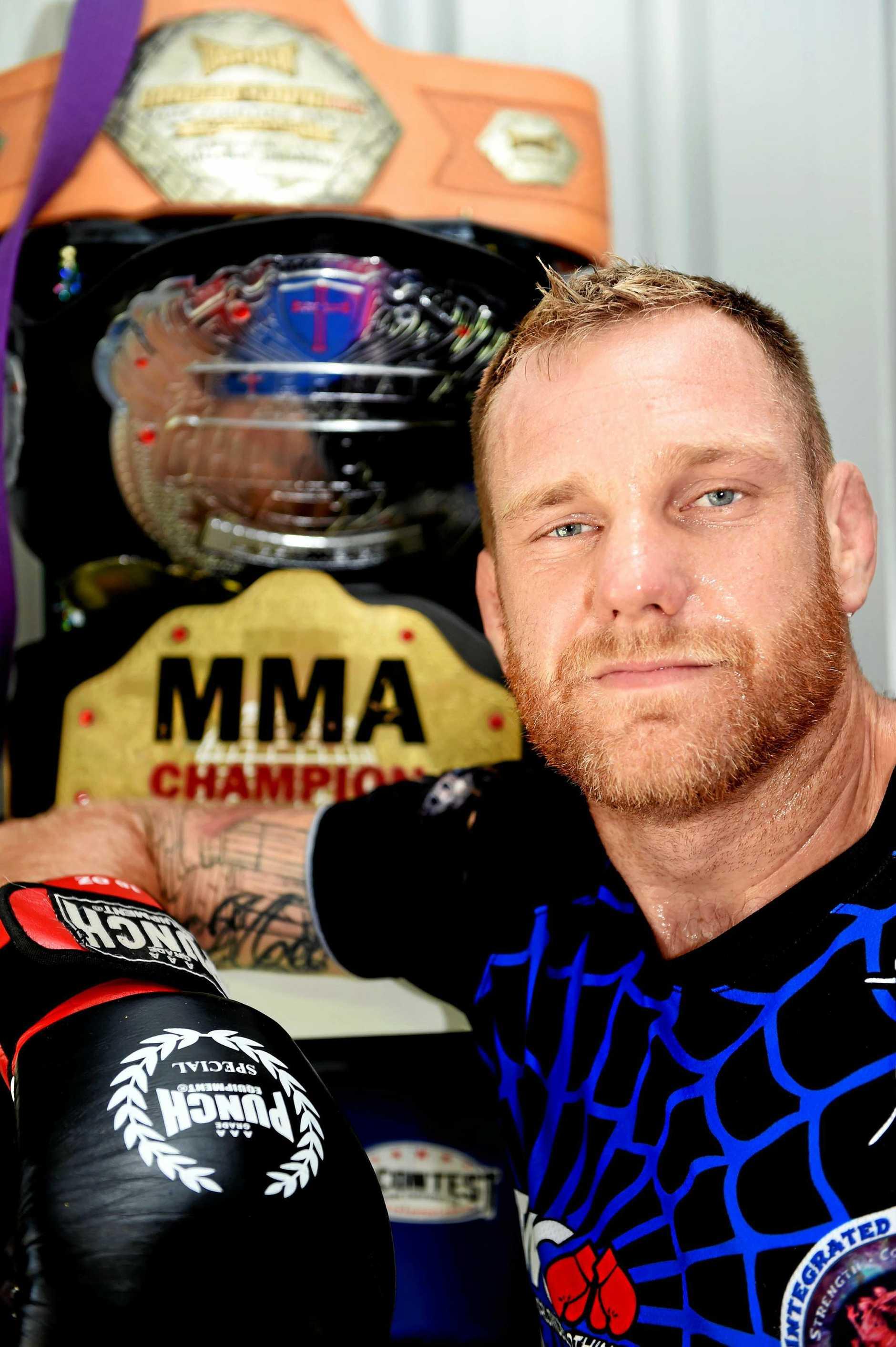 The Tarantula - MMA fighter, Greg Atzori.