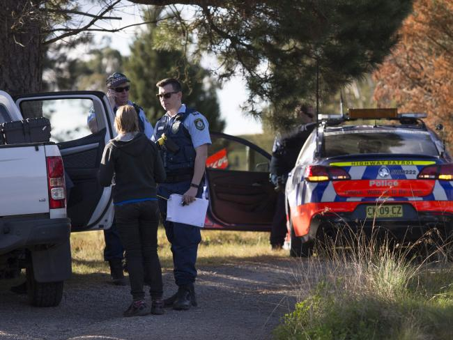 Police are investigating after the two skydivers died at Wilton.