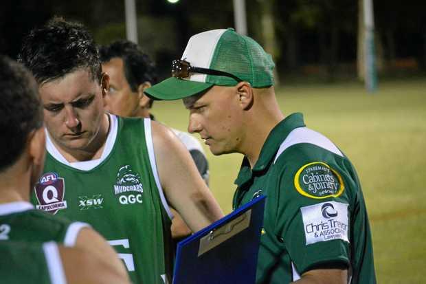 Gladstone Mudcrabs coach Mark Jensen