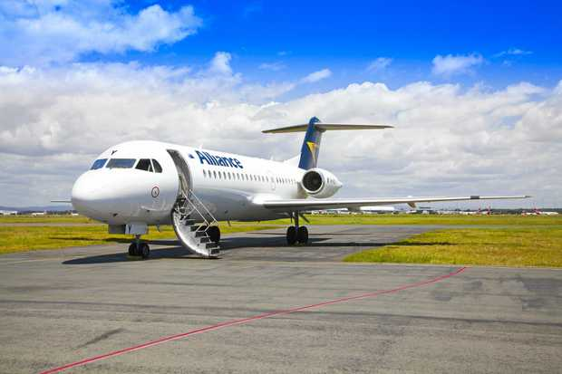 FREE FLIGHTS: Alliance Airlines will offer passengers on its first three flights from Gladstone to Brisbane a free return trip.