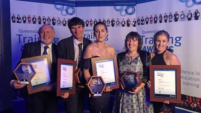 Five of 11 winners at CQ Regional Training Awards from Gladstone.