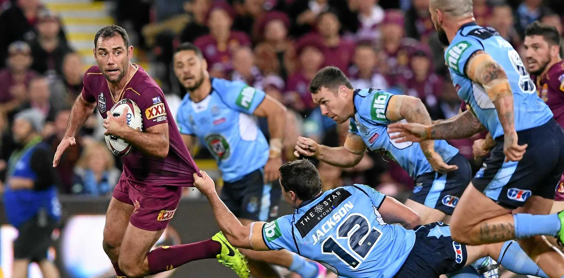 Hooker Cameron Smith is one of nine Queenslanders named in the inaugural Kangaroos Origin Merit Team.