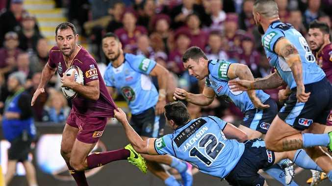 Hooker Cameron Smith is one of nine Queenslanders named in the inaugural Kangaroos Origin Merit Team.