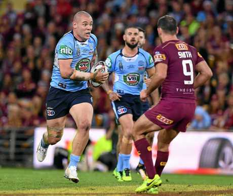 Blues prop David Klemmer has been named to start in the front row.