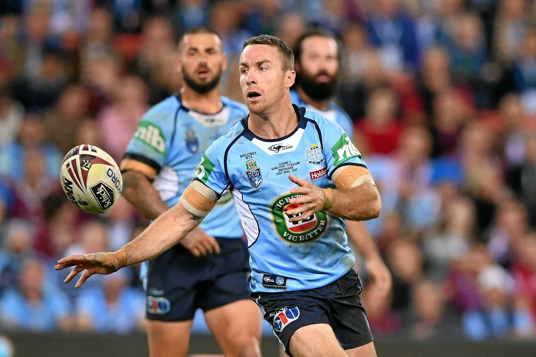 NSW five-eighth James Maloney has been handed the No.6 jersey.