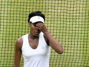 Williams defiant after Wimbledon fade-out