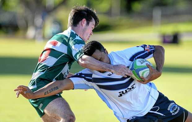 DERBY BECKONS: Ipswich Rangers host the Goodna Gladiators at Woodend on Saturday.