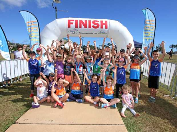 FUN FOR ALL: Children and families were a big part of the 2017 Airlie Beach Running Festival.