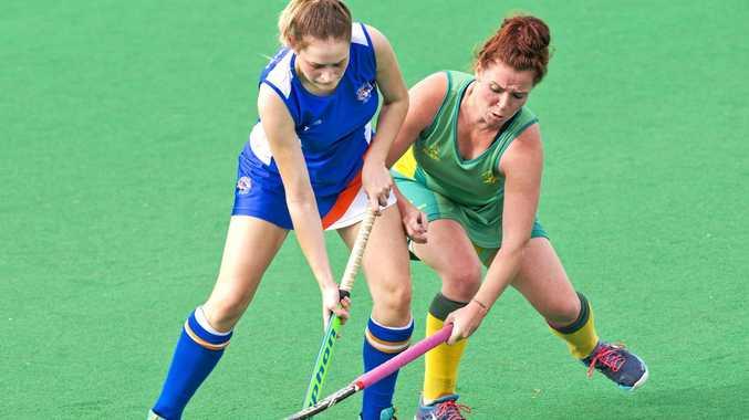Josephine Lambourne, Newtown. Newtown vs Bellbowrie. Hockey, Toowoomba-Ipswich Intercity .  Sunday, 14th May, 2017.