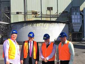 Foley sweet on sugar after Harwood Mill visit
