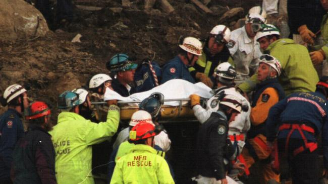 Stuart is pulled from rubble after 65 hours trapped.