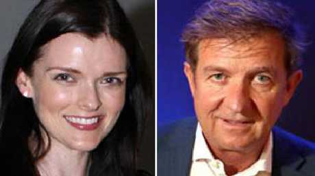 Seven boss Tim Worner and his former lover and executive assistant Amber Harrison.