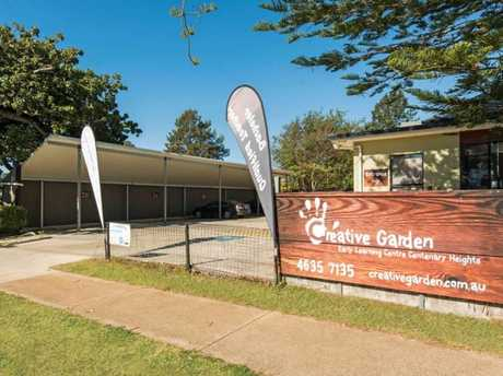 Creative Garden Early Learning in Centenary Heights is going under the hammer next month.