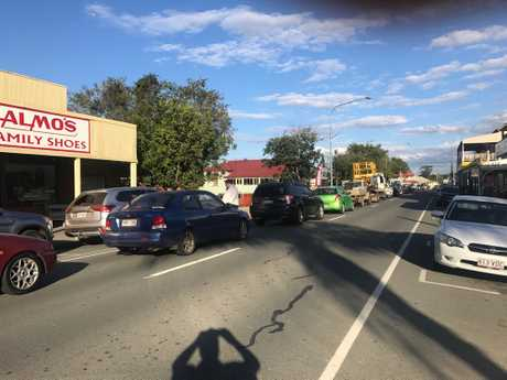 Traffic backed up on Friday afternoon at Rosewood after the boom gates failed and were stuck down for hours. Cr David Pahlke has written to the Deputy Premier calling for an investigation and a permanent solution.