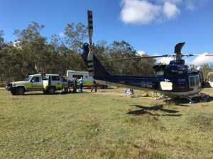 UPDATE: Emu Park man in hospital after CQ rollover