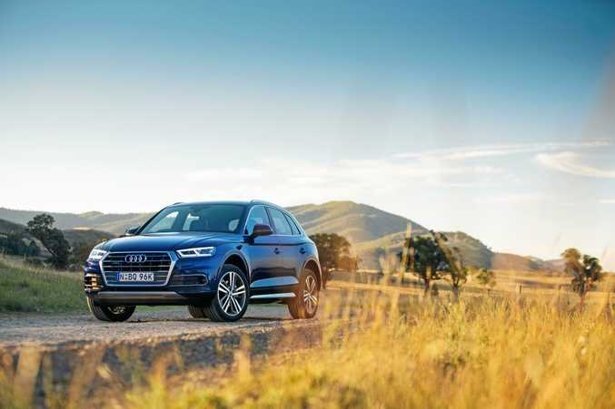 FINE FIGURE: Audi has launched the second generation Q5 with a choice of petrol and diesel engines.