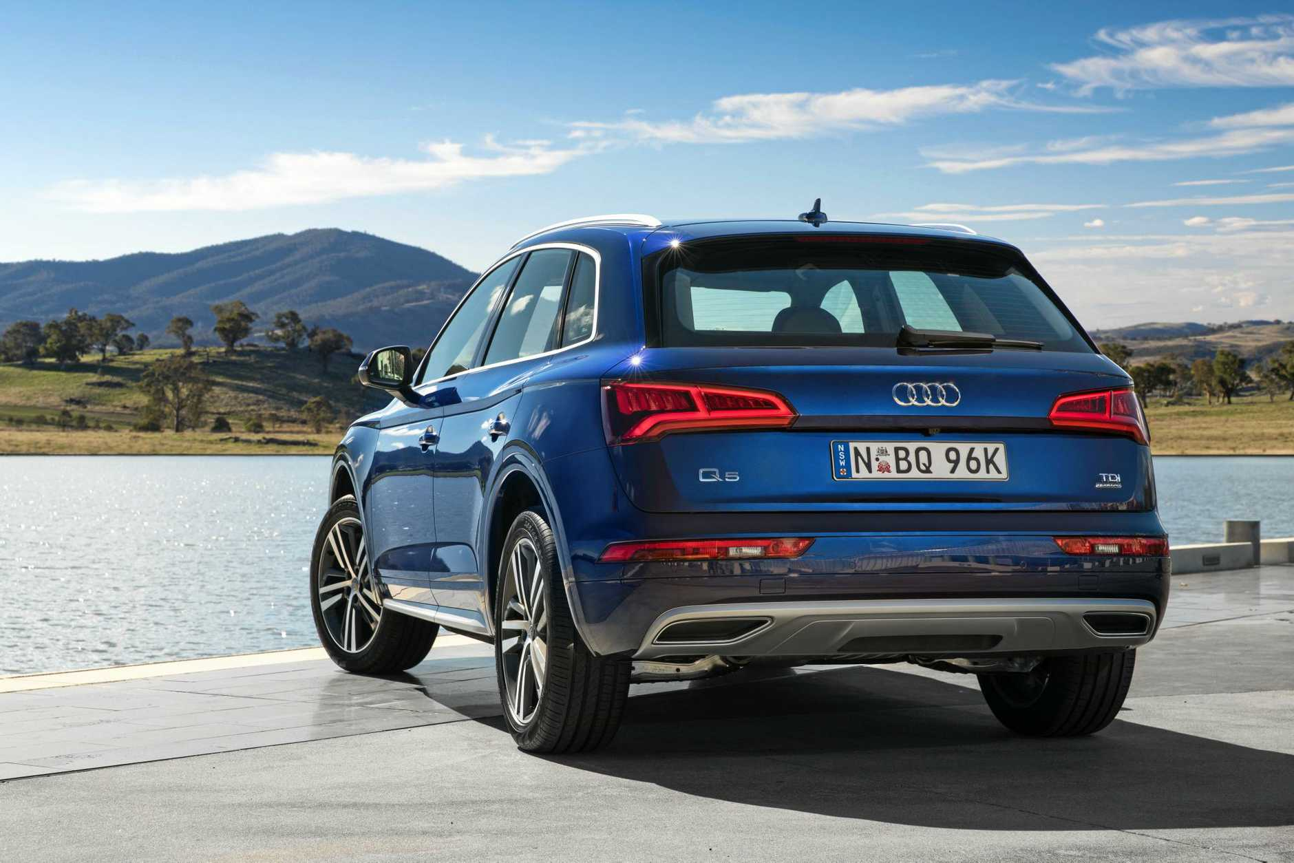 Audi has launched the second generation Q5, with a choice of petrol and diesel engines.