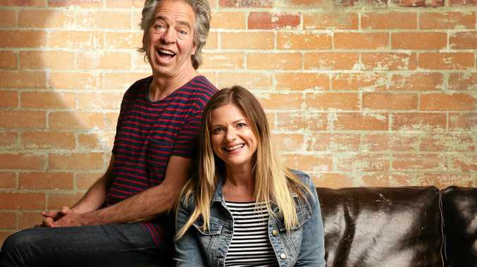 ON TOUR: Julia Zemiro and Brian Nankervis are on tour with RocKwiz.