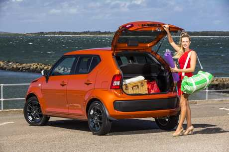 SUZUKI IGNIS: More of a high-riding hatchback than an SUV, the Ignis appeals thanks to its elevated driving position and its more rugged looks. just don't take it off the beaten track.