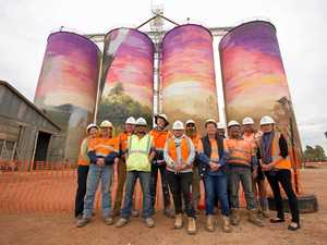 Western Queensland's great splash of colour
