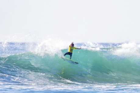 Ty Richardson won the 12 and under Occy Grom event at D'bah, before backing up with a win at the Skull Candy OZ Grom comp.