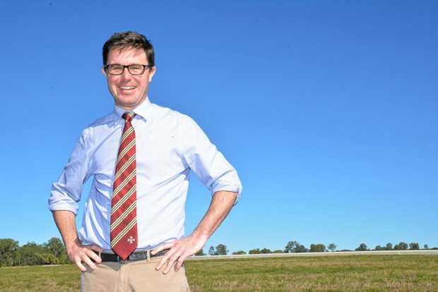 Maranoa MP David Littleproud.