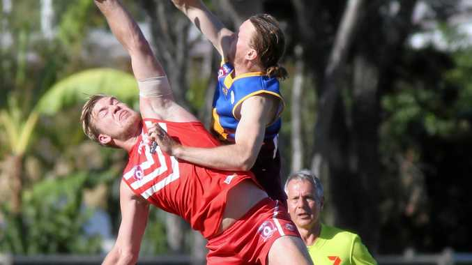 Ruckman Jamie Garner was best on ground for the Yeppoon Swans in their win over the Glenmore Bulls.