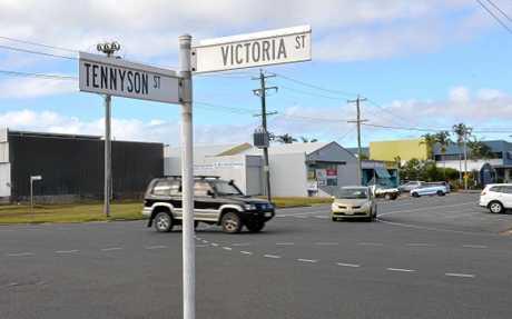 Corner of Tennyson and Victoria Streets, Mackay.