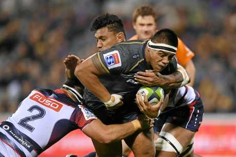 After being rested last week Allan Alaalatoa will step back into his starting role for the Brumbies in their quarter-final clash.