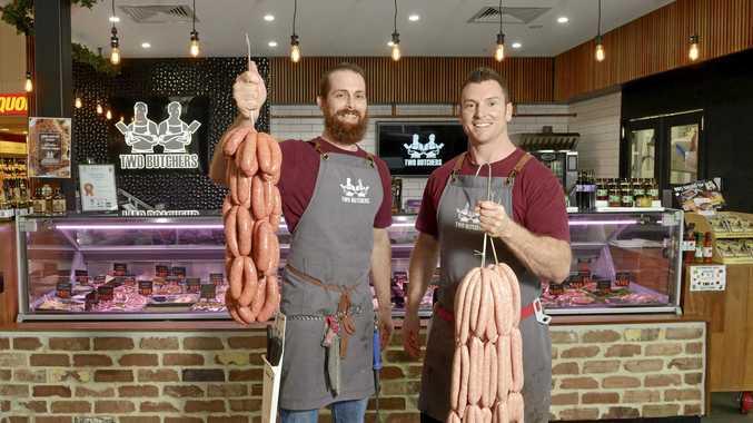 Ken Kearney and Steve McMeniman from Two Butchers.