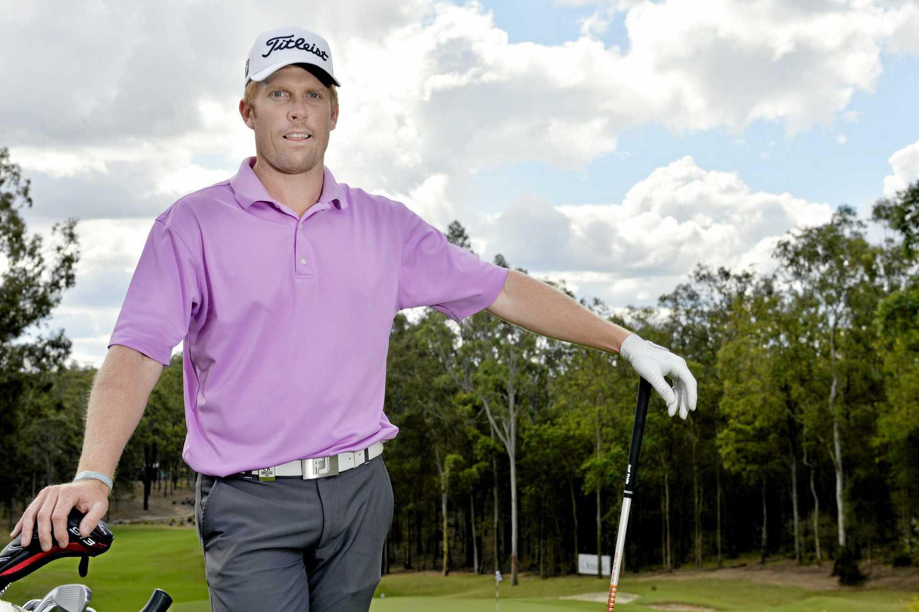 IN FORM: Gatton golfer Andrew Dodt.