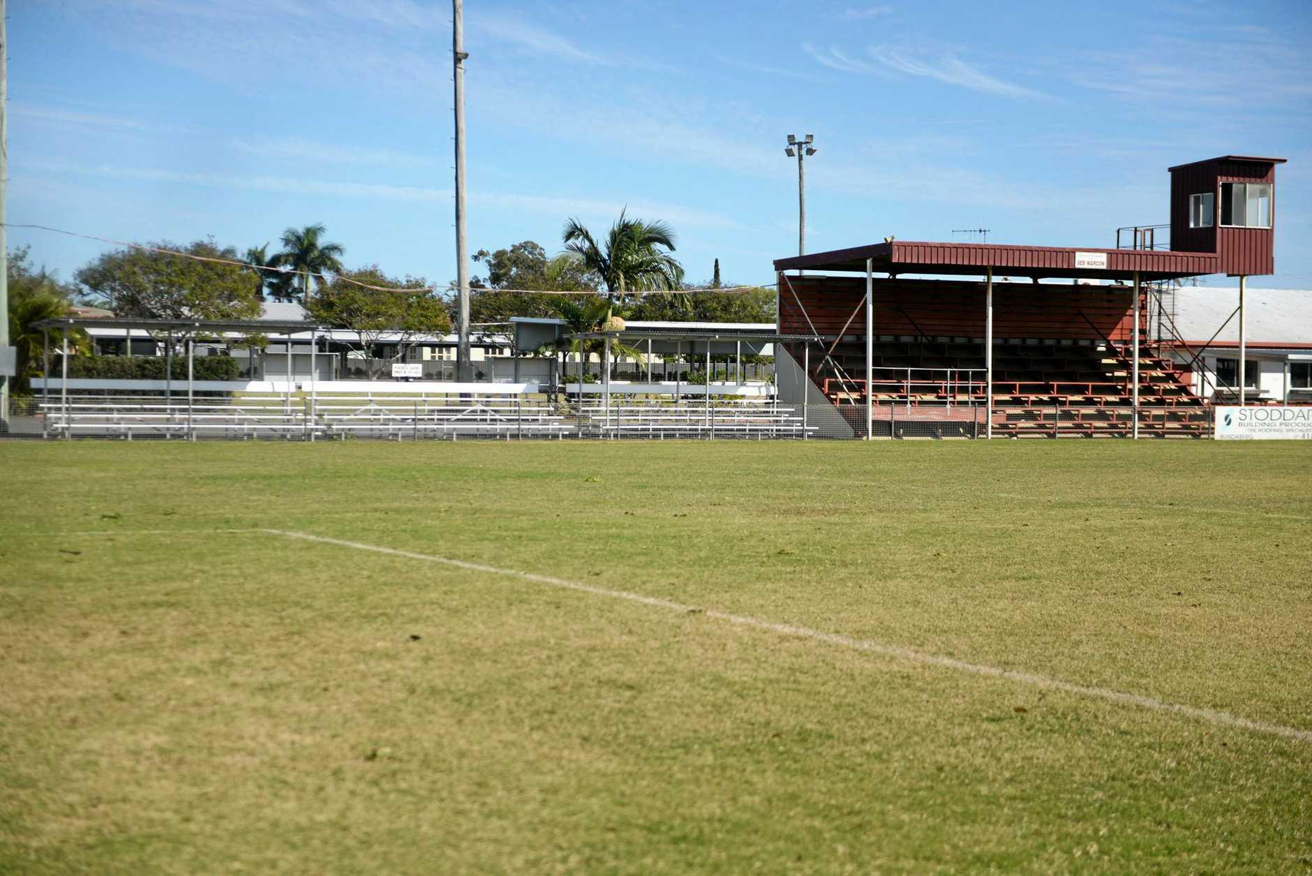 Martens Oval in Bundaberg