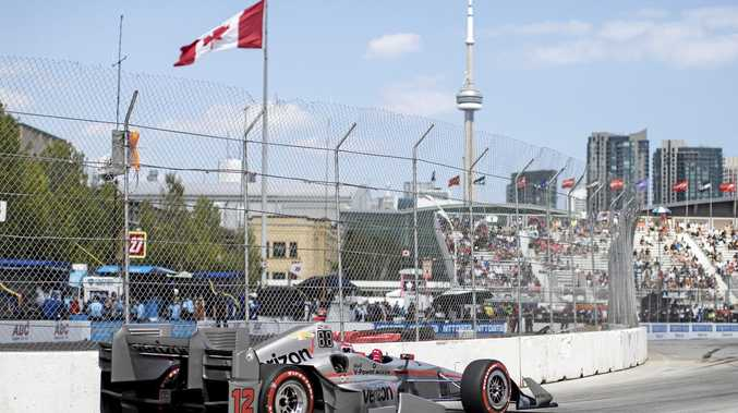 PRANG: Australian driver Will Power lasted just one lap in the Toronto IndyCar race.