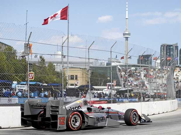 Simon Pagenaud fastest driver after second Honda Indy Toronto practice