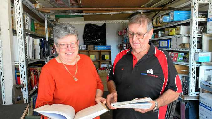 FOR SALE: Owners of Gladstone Auto Parts and 4WD Jim and Robyn Steedman say they've found potential buyers.
