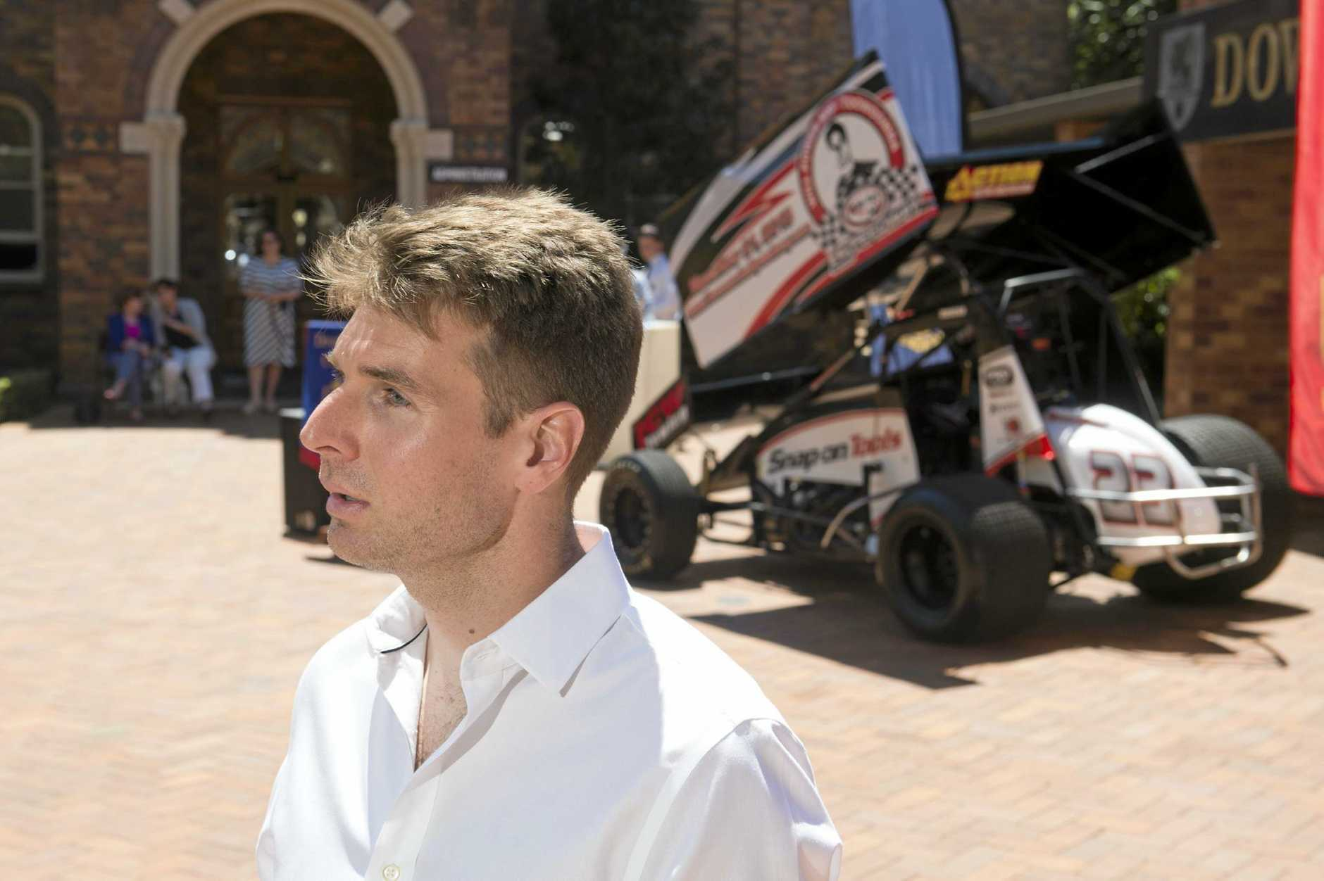 TOUGH BREAK: Toowoomba's IndyCar driver Will Power.