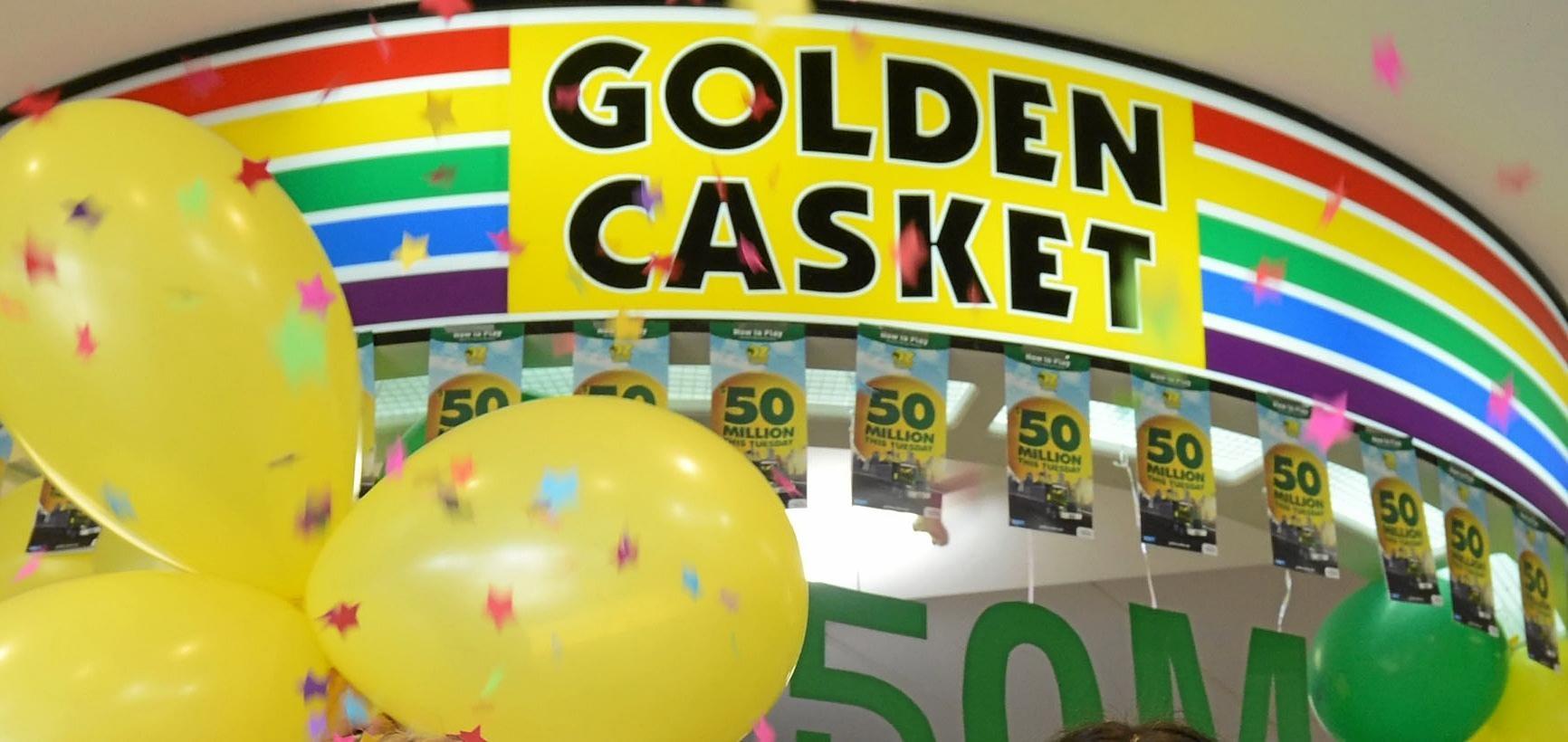 WINNER WINNER: Proserpine has sold another winning Gold Lotto ticket.