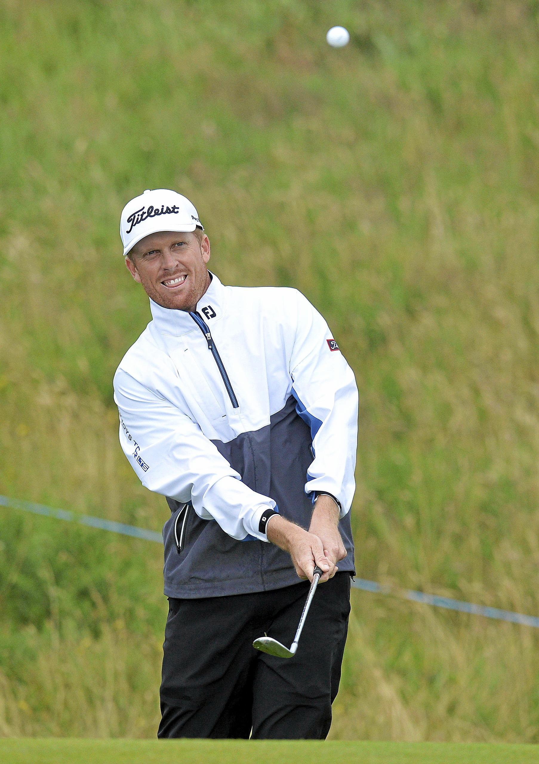 ON PAR: Australia's Andrew Dodt has qualified for the British Open with a fourth place finish at the Scottish Open.