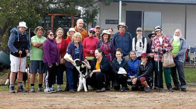 GOOD CAUSE: The first annual Bushwalking Queensland and Friends of Brisbane Valley Rail Trail for Diabetes Queensland was a resounding success.