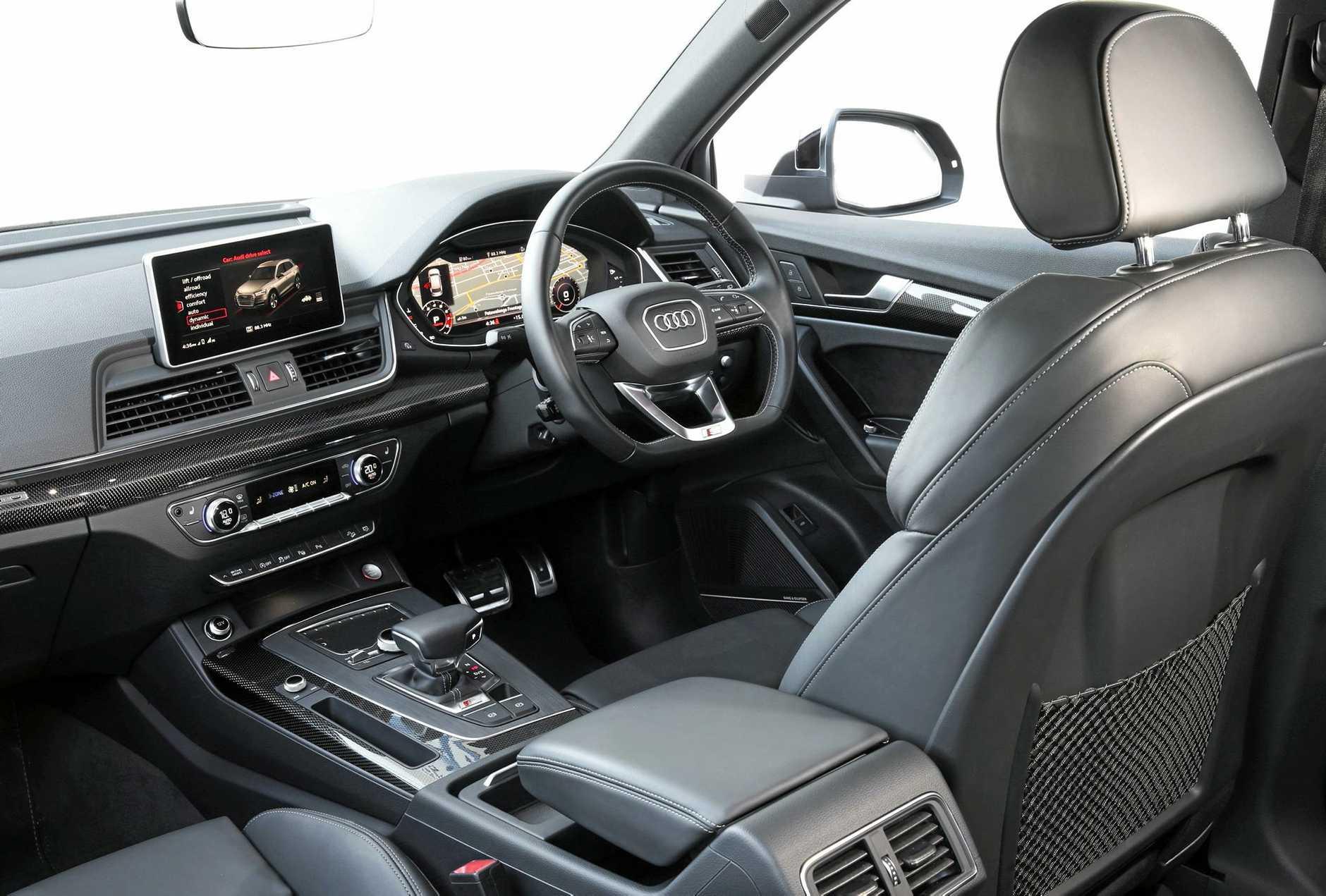 The 2017 model Audi SQ5.