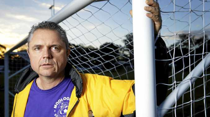 CONCERNED: Mooloolah Vipers Soccer Club president Gus Gillespie was unaware of any issues with Ewen Maddock Dam.